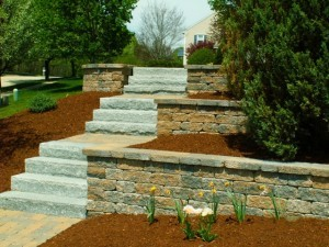 Mulch blowing results in a nice, even coating of mulch, giving you the best possible look for your beds.